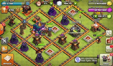 game coc mod bisa join clan cheat coc clash of clans v8 709 23 mod hack apk