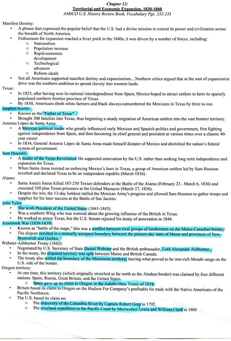 us history chapter 12 section 2 amsco chapter 12 ap united states history help