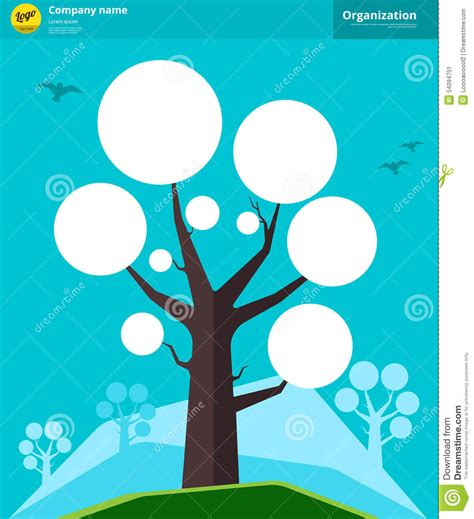 Family Genealogy Tree Diagram Chart Cartoon Vector Cartoondealer Com 67525395 Genealogical Tree Concept Family Tree