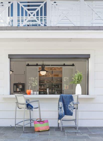 indooroutdoor kitchen poolside serving window