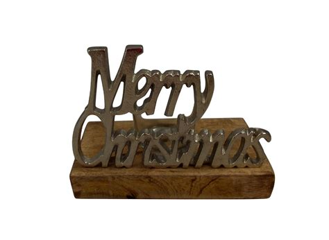 sil merry christmas t light holder gifts from handpicked
