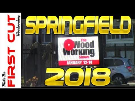 woodworking show springfield  youtube
