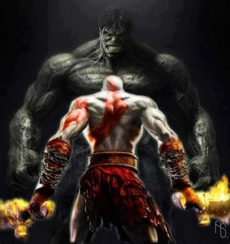 imagenes de espadas epicas 201 picas batallas kratos vs hulk imagen kunka09