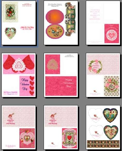 make printable card free printable valentines cards