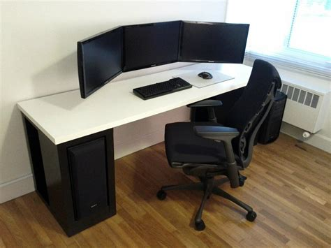 Best Gaming Desk Wooden Gaming Desk Modern Desks Wooden Gaming Desk
