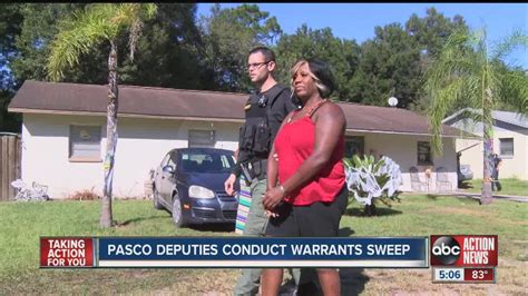 Pasco Warrant Search Pasco Warrant Sweep Nets Dozens Of Arrests