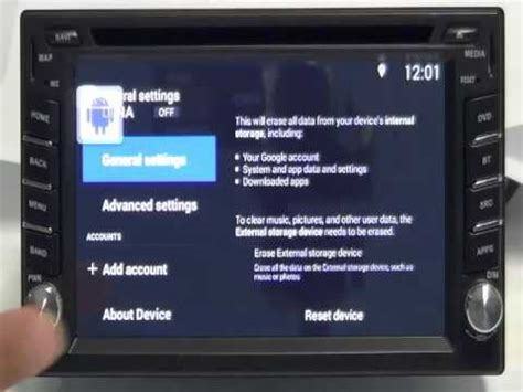 reset android 4 2 2 ownice c200 quad core android 4 4 2 car dvd factory reset