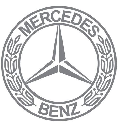 logo mercedes benz vector mercedes benz logo classic picture image free download
