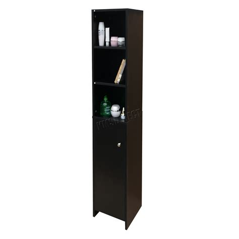 black bathroom storage foxhunter wall mount wooden bathroom cabinet tall shelving