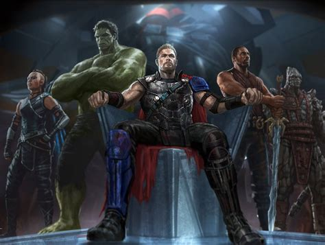 god of war film production the god of thunder assumes the throne in thor ragnarok