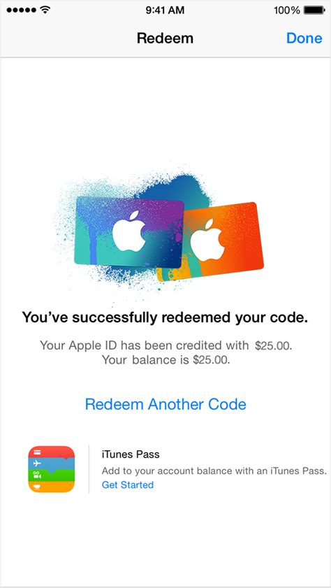 Apple Redeem Gift Card - redeem itunes and apple music gift cards with the camera on your iphone ipad ipod