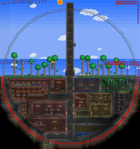 104 Best Images About Terraria On Pinterest House Design House Layout Terraria