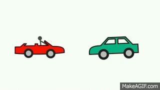 animated car crash drawing car on make a gif
