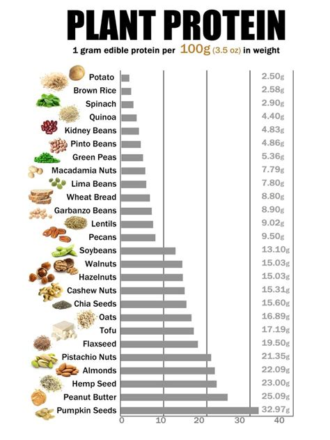 p protein in plants 1000 ideas about protein chart on plant based