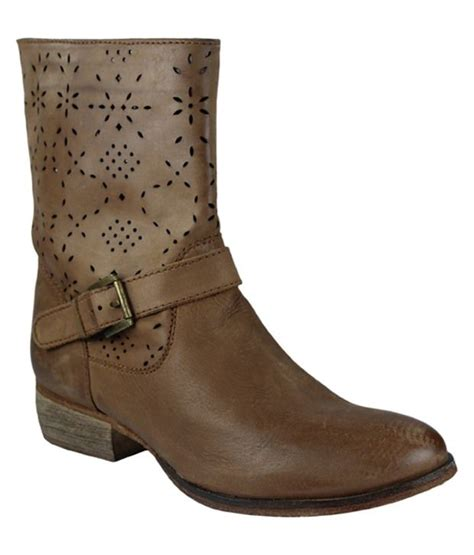 faith brown boots price in india buy faith brown boots