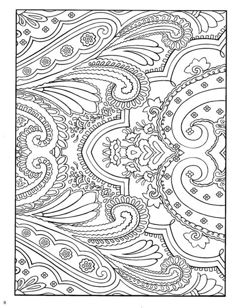 paisley designs coloring pages printable paisley coloring pages images