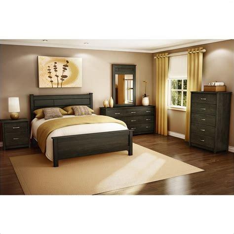 vendome  pc bedroom set  ebony contemporary bedroom furniture sets  york