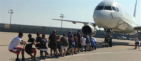 ups plane pull presented  brightspring special olympics kentucky