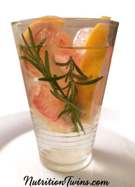 Grapefruit Detox To Clean Medications by Grapefruit Rosemary Detox Infusion Nutrition