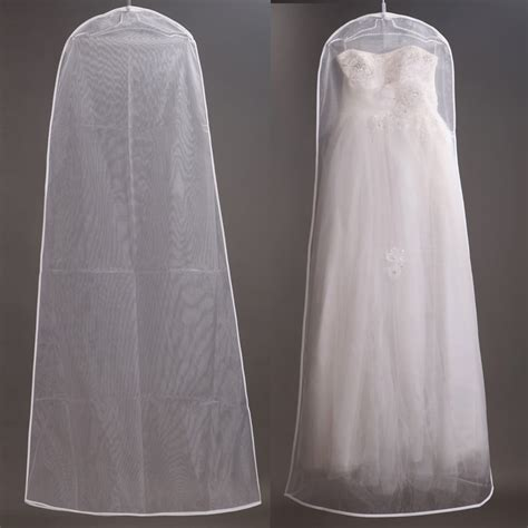 bag for wedding dress 160cm soft tulle wedding dress bags clothes cover dust
