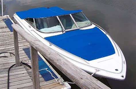 boat t top string custom canvas boat covers