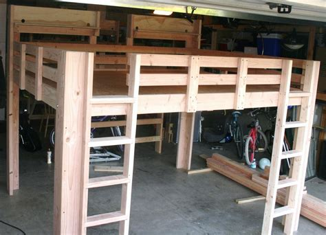 Handmade Bunk Beds - size bunk beds for adults