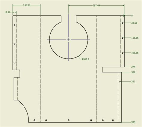 flat pattern drawing inventor drawing the inventor flat pattern