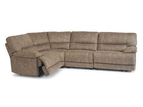 reclining sectional furniture flexsteel sectional sofa flexsteel laudes south street