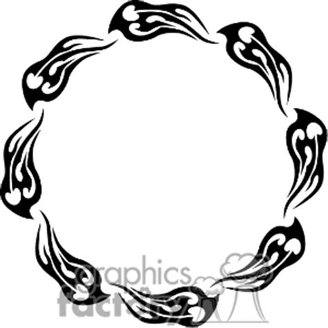 fire clipart border black and white clipart panda free
