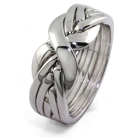 sterling silver puzzle ring 6bsl size 7 buy in