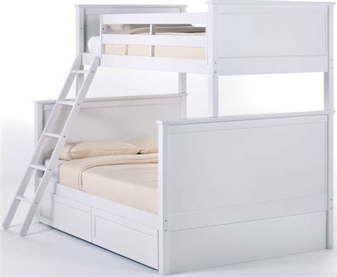 White Bunk Bed With Storage School House White Bunk Bed With Storage From Ne Coleman Furniture