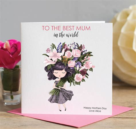 mothers day card best mum by lisa marie designs best mum mothers day card by lisa marie designs
