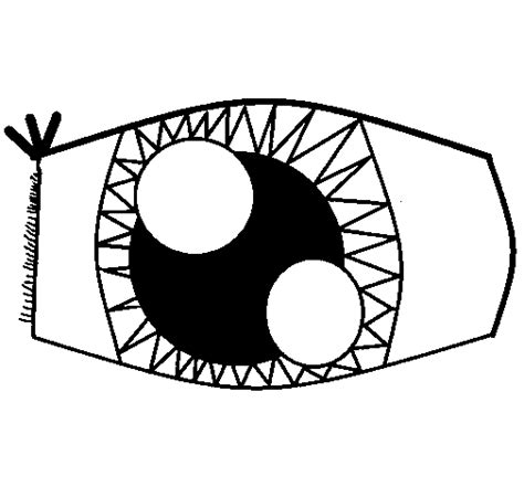 Eye Coloring Page Eyeball Coloring Page