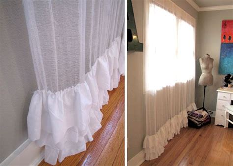 cheesecloth curtains dip dyed homemade and i want on pinterest