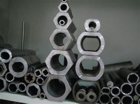 tuyau d acier sae1010 sp 233 cial 224 l int 233 rieur de en acier ovale plat sans couture hexagonal