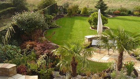 Country Home Designs by Mediterranean Garden Design Patios And Tropical Planting