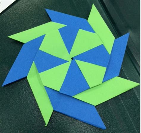 Origami Pinwheel - origami pinwheels if then creativity gifted museum