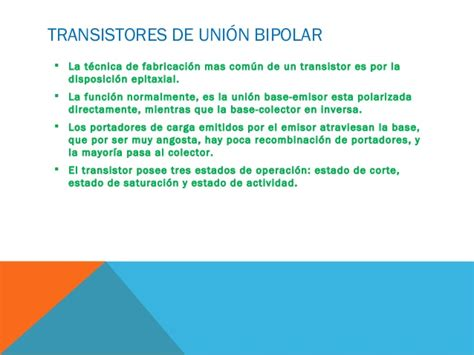 transistor bipolar caracteristicas transistor de union bipolar caracteristicas 28 images transistores bipolares de union