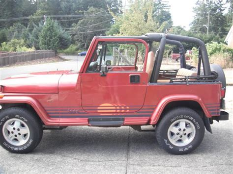 jeep islander 1992 jeep yj islander edition outside nanaimo parksville