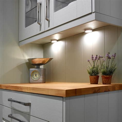 kitchen lighting led under cabinet sensio dimmable sls hype led cabinet spotlight cool