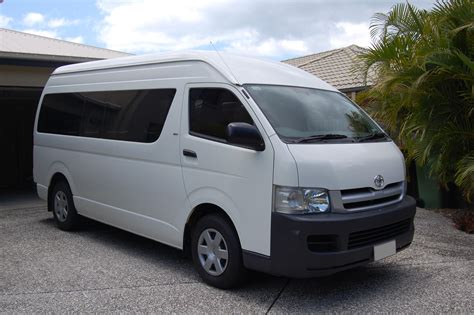 Vehicle Re Upholstery Toyota Hiace Commuter The Campervan Converts