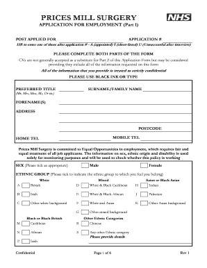 printable job application cvs cvs job application form templates fillable printable