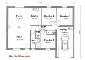 Simple Floor Plan Of A House impression d une maison mod 232 le dorso