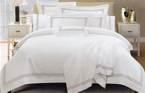 Hotel Style Duvet Covers 1000tc white hotel style emb cotton king quilt doona duvet cover set ebay