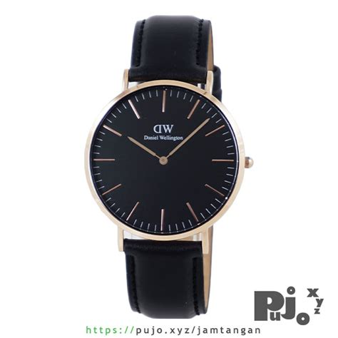 Jam Tangan Daniel Wellington Black jual daniel wellington dw bm classic black 40mm