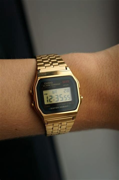 Casio Gold jewels casio gold gold unisex luxury