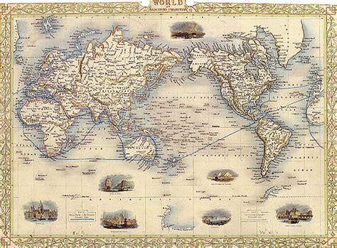 map world mercators projection usa repro poster ebay