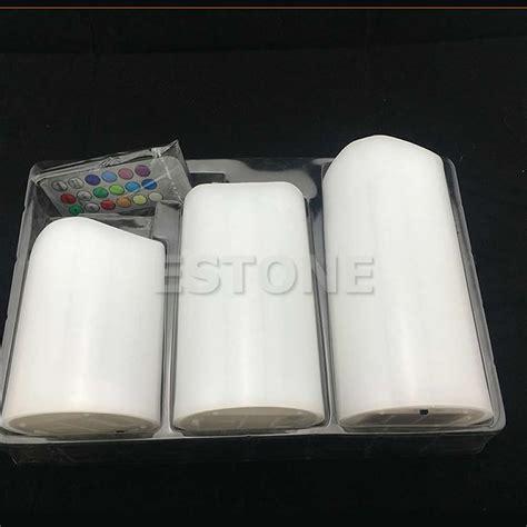 flameless tea lights with remote 3pcs set flameless led remote tea light battery
