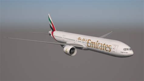 boeing 777 300er sieges boeing 777 300er emirates free 3d model 3ds dae mtl