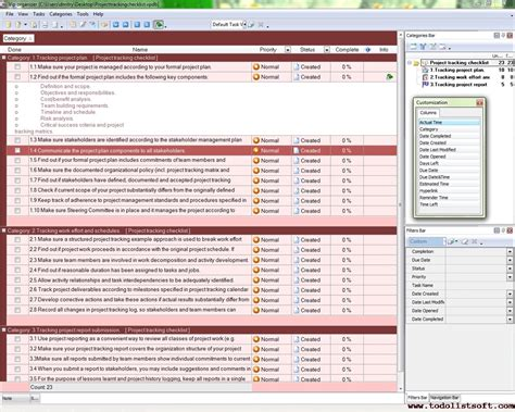excel template to do list or task list template for excel by
